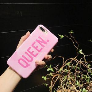 Accessories - Queen Pink Marble iPhone Case